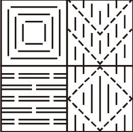 変わり織りイラスト